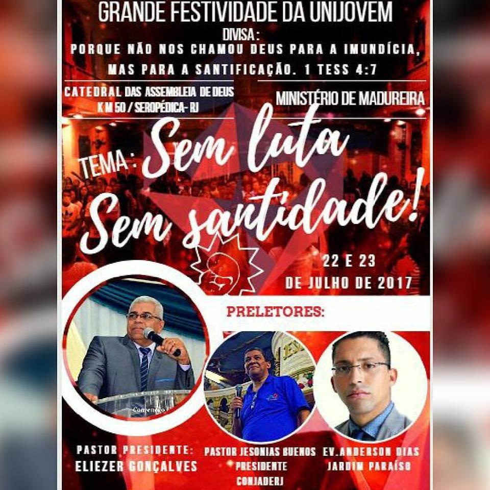 Festividade da Unijovem na Matriz – Assembleia de Deus km 50 eed7640213